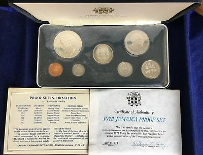 1973 Jamaica Proof Set