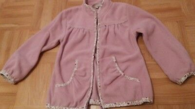 Bon A Parte Girls Mädchen Weste Fleece Cardigan 110