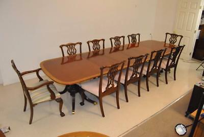 Fine Baker Furniture Dining Room Set Collectors Edition With