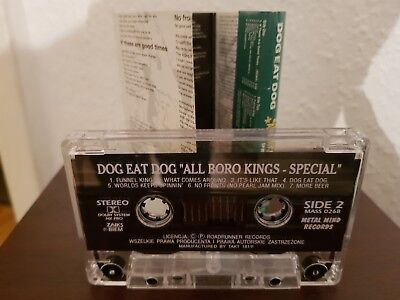 Dog Eat Dog-All Boro Kings HipHop Rap Kassette