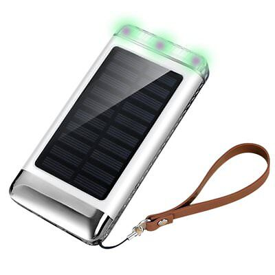 Multi Solar Phone Charger,toobeeyoo 3USB High Speed Smart Solar Power Bank with