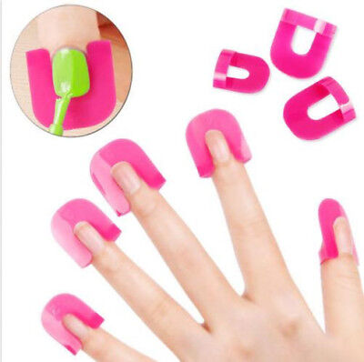 Pro Manicure Finger Nail Edge Protect Tips Cover Polish Shield Protector Tool