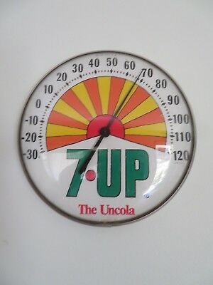 """Vintage 7 Up """"the Uncola""""  Thermometer  1971"""