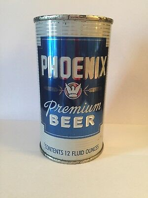 Phoenix Premium Beer Flat Top Beer Can