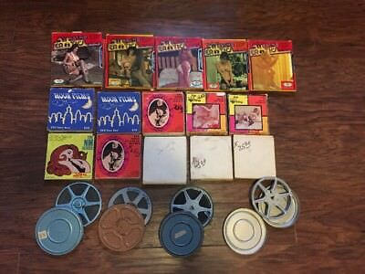 18 vintage 8mm super 8 adult erotic film movies