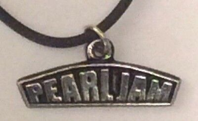 PEARL JAM PENDANT NECKLACE metal  grunge rock n roll heavy hard thrash