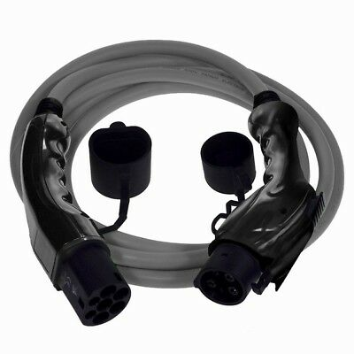 Nissan Leaf EV Charging Cable Type 1 to Type 2 Includes Carry Case