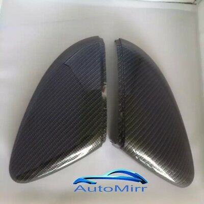 VW Golf Mk7 Wing Mirror Covers Carbon Fibre Look - GTI GTD R replacement