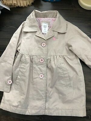 just one you girls jacket 4t easter spring trench coat