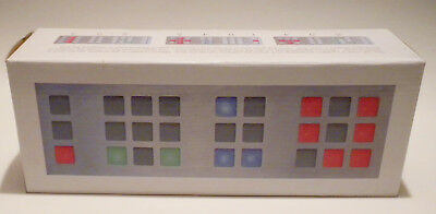 TIX Clock Cube Root Labs Pattern Generating LED Silver Faceplate New, Open Box