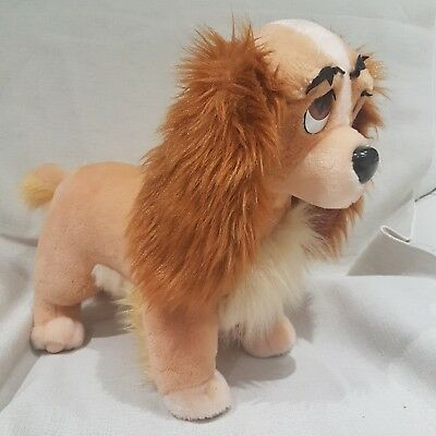 * Lady And The Tramp large by Disney Store Soft Toy