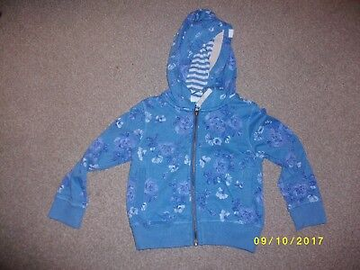 Girls Blue Hooded Jacket Age 3 Years from Next