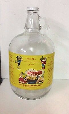 Kickapoo Fountain Syrup Soda Gallon HTF+