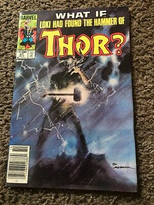What If? # 47 (1984, Marvel)  Loki had found the Hammer of Thor?