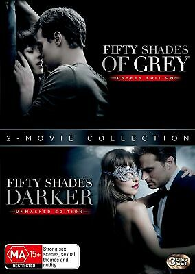 Fifty Shades 2 Movie Collection Box Set with Digital Download DVD Region 4 NEW