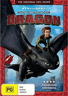How to Train Your Dragon DVD Region 4 NEW