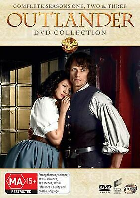 Outlander Seasons 1-3 Box Set DVD Region 4 NEW