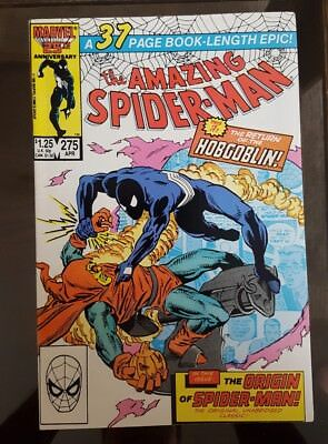 1986 MARVEL: The AMAZING SPIDER-MAN #275 x FN/VF - HOBGOBLIN - Spidey ORIGIN ! !