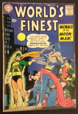 World's Finest Comics #98 (Dec 1958, DC) Superman Batman 10c Title