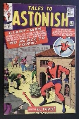 Tales to Astonish #54 (Apr 1964, Marvel) Giant-Man (Ant-Man) & The Wasp