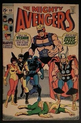 The Avengers #68 (Sep 1969, Marvel)