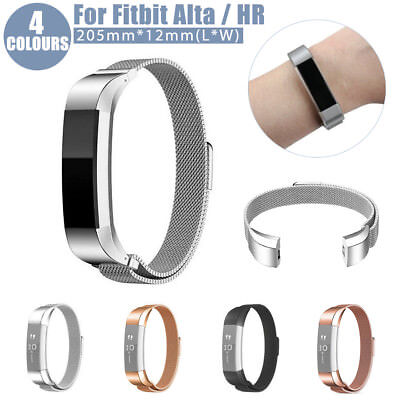 Stainless Steel Replacement Magnetic Wrist Band Strap for Fitbit Alta / Alta HR