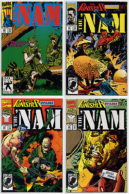 THE 'NAM #66 #67 #68 #69 - 1992 - THE PUNISHER - CGC Ready! - 9.6 OR BETTER