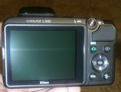 Nikon Coolpix L340 20.2MP Black Digital Camera