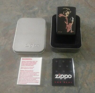 Elvis Presley Zippo Lighter - New w/ Case