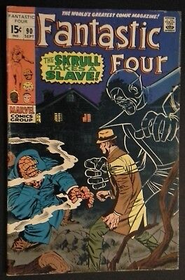 Fantastic Four #90 (Sep 1969, Marvel)