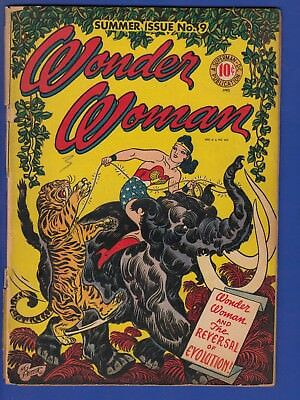 WONDER WOMAN #9, FIRST APPEARANCE and ORIGIN of GIGANTA a MAJOR VILLAIN COMPLETE