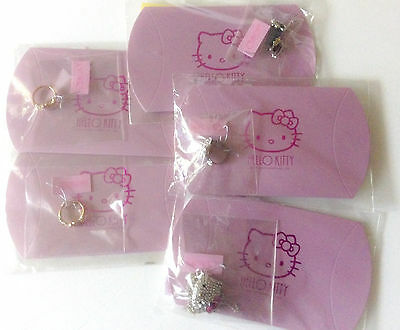 Sanrio Hello Kitty Jewelry LOT Ring Necklace Earrings MSRP $140 Authentic Korea