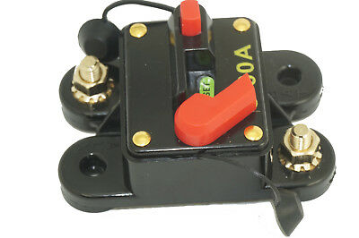 Waterproof DC Circuit Breaker - Surface Mount Manual Reset Type, 60Amp - 300Amp