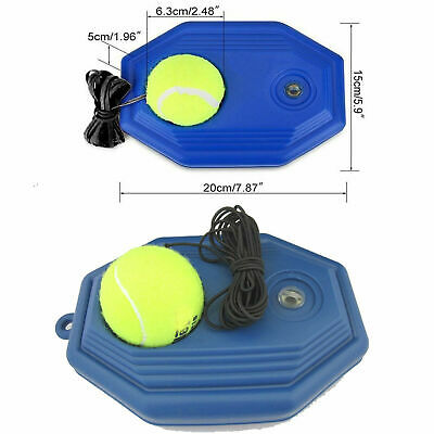 Portable Fill & Drill Base Tennis Trainer Tetherball Training Aid Practice Set
