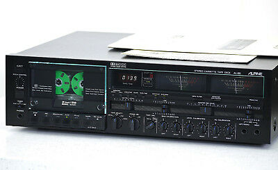 "ALPINE/ALPAGE AL-85 High-End Cassette Deck ""mint"" + BDA!! Revidiert+1J.Garantie!"