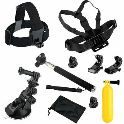 Chest Head Strap Belt Float Selfie Stick Tripod Mount for GoPro 6 5 4 3+ Xiaoyi