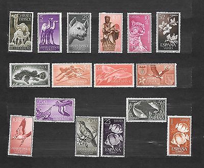 SAHARA ESPANOL  16 STAMPS NUOVI lot lotto - Colonies