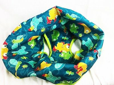 Evenflo ExerSaucer Seat Cover Replacement Triple Fun Amazon  Blue Green Jungle