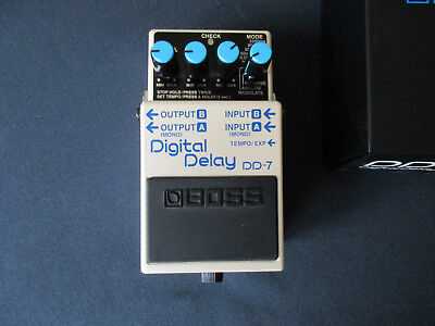 BOSS DD-7 Digital Delay Gitarreneffektgerät