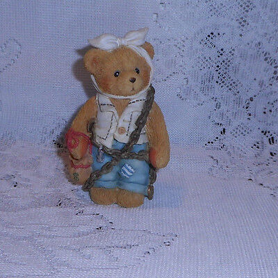 "Cherished Teddies Jacob Bearly  "" You Will Be  Haunted By Three Spirits"" 1994"
