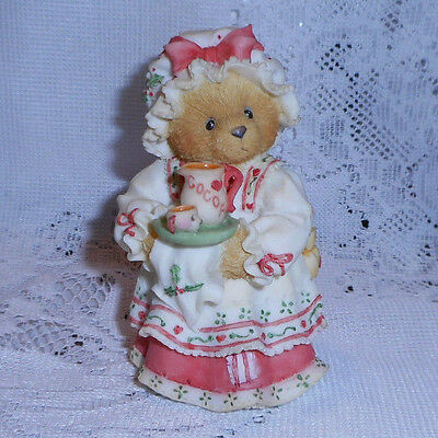 "Cherished Teddies Holly "" A Cup Of Homemade Love "" 1995 Hillman"