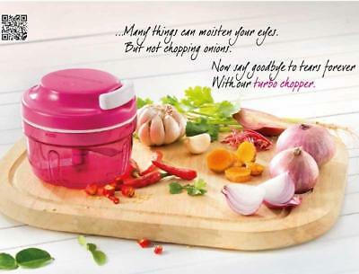 Tupperware - Pink Turbo Chef - BNIB - Rare
