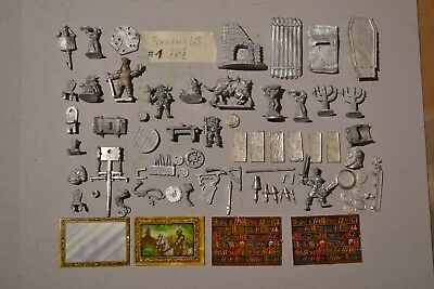 LOT 1 Scenery BITZ rare Citadel Warhammer Fantasy Oldhammer Reaper Metal Magic