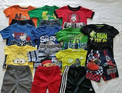 Boys 24 months and 2T Spring Summer clothing outfits clothes lot