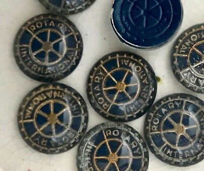 Rotary International Cabochons, Rotary International Jewelry, Vintage #B158F
