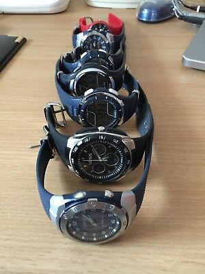 Lorus Gents Watches, Job Lot, 7 Peices, Used