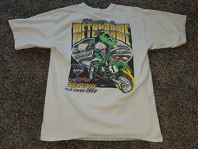 Original Vintage 1999 Supercross Minneapolis Mn Metrodome T-Shirt  Xl