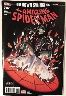 The Amazing Spider-Man #797: GO DOWN SWINGING Pt.1 -- ALEX ROSS COVER, 1st Print