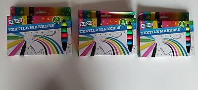 Neon Textile Markers