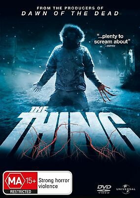 The Thing DVD Region 4 NEW